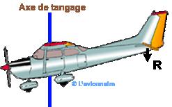 Avion Cessna vue Profil Pique