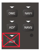Audio DME ADF NAV